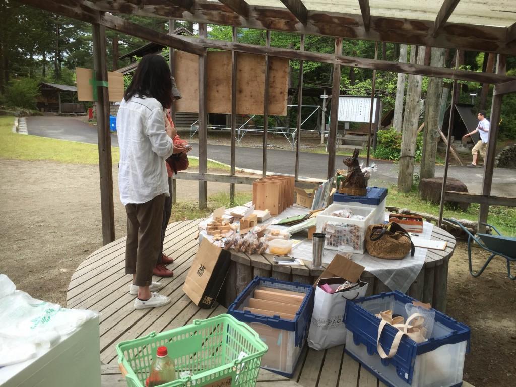 kikito製品のアウトレット販売 © 高取山ふれあい公園
